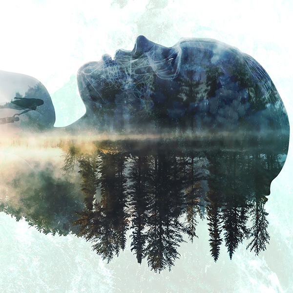 impronte visive artwork album redemption hidden lapse