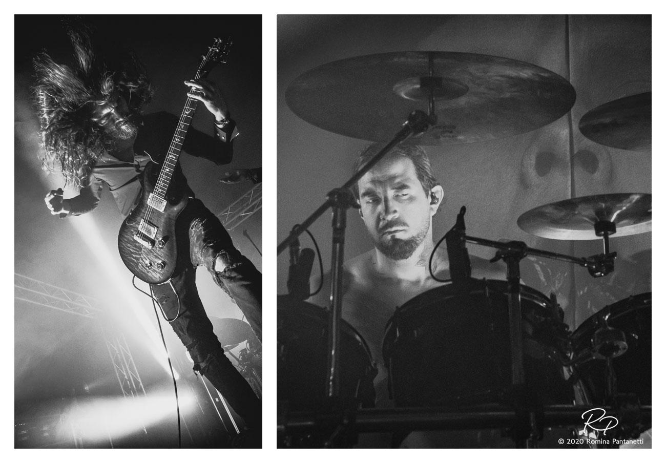 foto eventi live concert soen fabriano 2019
